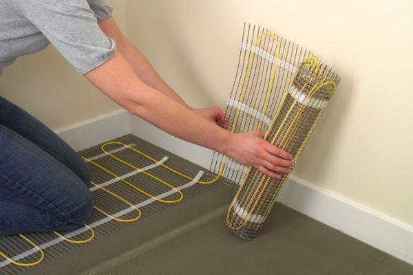 Amber Underfloor Heating Mat