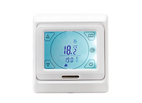 Amber Touch Thermostat