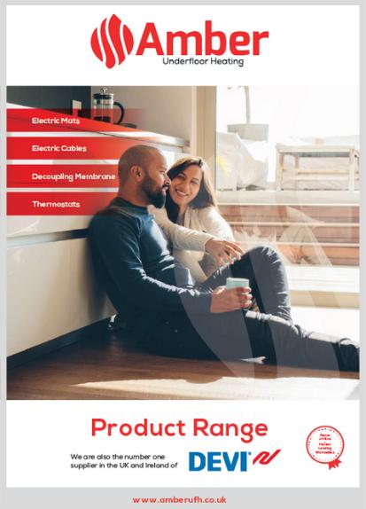 Amber Underfloor Heating Product Brochure 2021