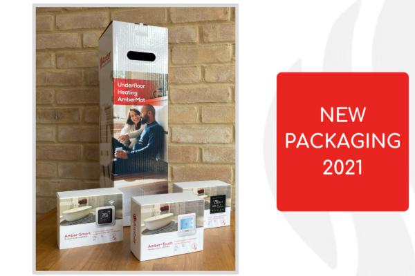 AmberMat packaging reduced
